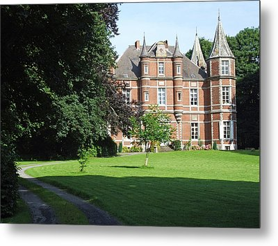 Metal Print featuring the photograph Chateau De Miremont Belgium by Joseph Hendrix