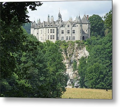Metal Print featuring the photograph Chateau De Walzin by Joseph Hendrix