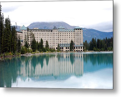Chateau Lake Louise Metal Print