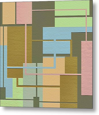 Check Metal Print by Ely Arsha