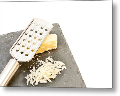 Cheese Grater Metal Print by Tom Gowanlock