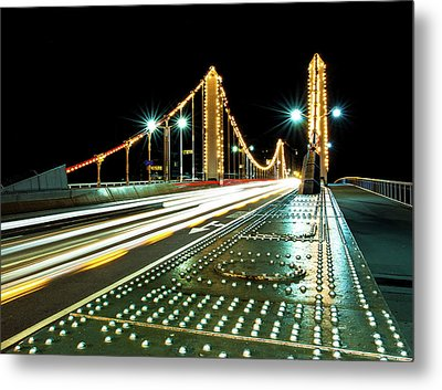Chelsea Bridge Metal Print by Vulture Labs