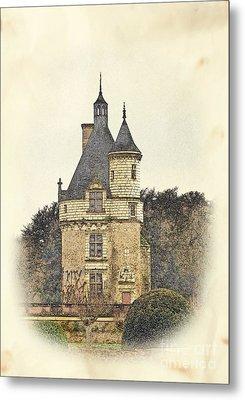 Chennonceau Castle Metal Print by Paul Topp