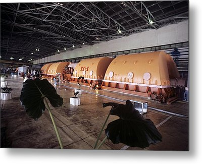 Chernobyl Turbine Generators Metal Print by Ria Novosti