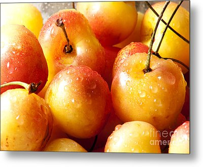 Cherries Metal Print by Blink Images