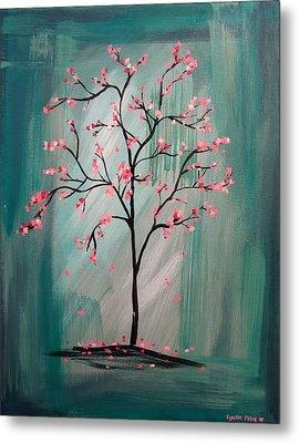 Cherry Blossom Metal Print by Lynsie Petig