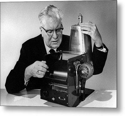Chester Carlson 1906-1968 Metal Print by Everett
