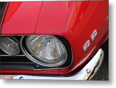 Metal Print featuring the photograph Chevy S S Emblem by Bill Owen