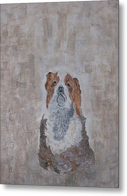 Chiari Dog Metal Print by Roy Penny