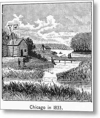 Chicago, 1833 Metal Print by Granger