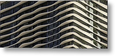 Chicago Architecture Metal Print by Paul Plaine