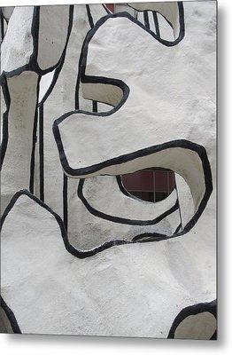 Chicago Dubuffet-1 Metal Print by Todd Sherlock