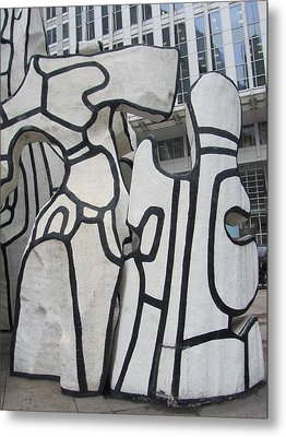 Chicago Dubuffet-2 Metal Print by Todd Sherlock