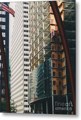 Chicago Geometry Metal Print by First Star Art