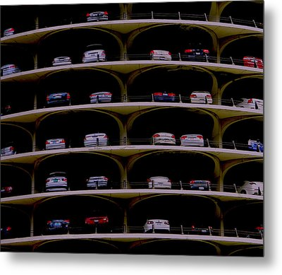 Chicago Impressions 3 Metal Print