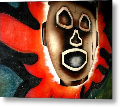 Chicago Mural Metal Print by Anthony Citro