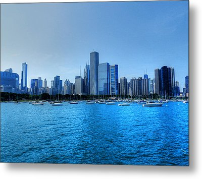 Chicago Tm 0015 Metal Print by Lance Vaughn