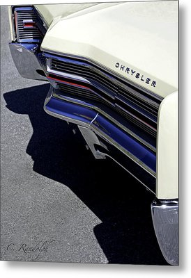 Metal Print featuring the photograph Chief Chrysler by Cheri Randolph