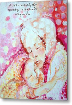 Child Of Love Metal Print by Mary Armstrong