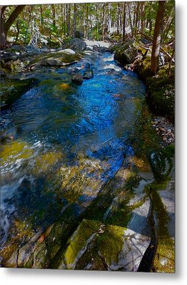 Childs Brook Wz 26 Metal Print