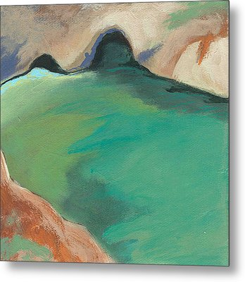 China Cove Metal Print by Laurel Porter-Gaylord