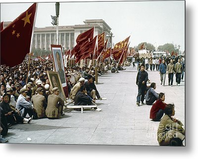 China: Cultural Revolution Metal Print by Granger