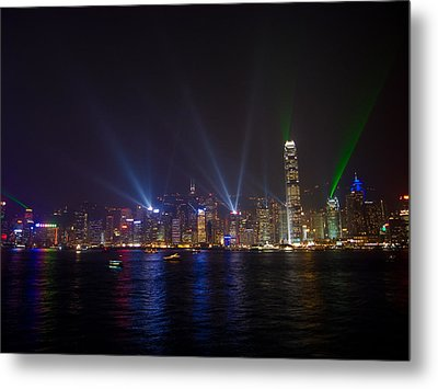 China-hong Kong Metal Print by Mark Simons Photography