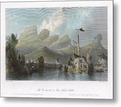 China: Mountains, 1843 Metal Print by Granger