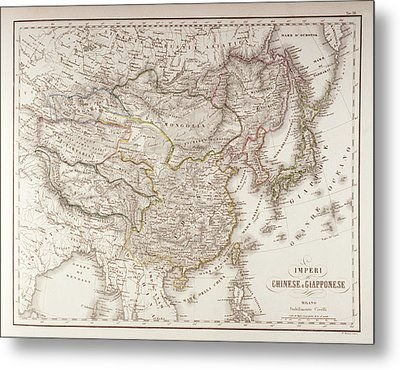 Chinese And Japanese Empires Metal Print by Fototeca Storica Nazionale
