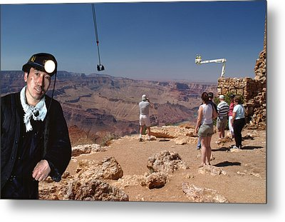 Chinese Buy Grand Canyon-2 Metal Print by Larry Mulvehill
