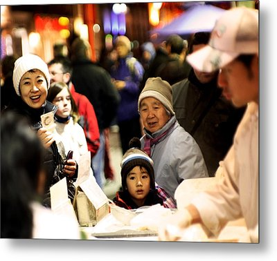 Metal Print featuring the photograph Chinese New Year by David Harding