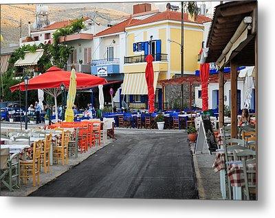Chios Greece 2 Metal Print by Emmanuel Panagiotakis