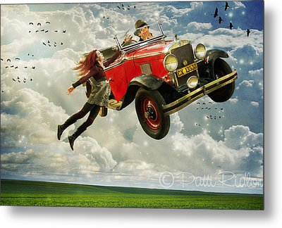 Chitty Chitty Oh No Metal Print