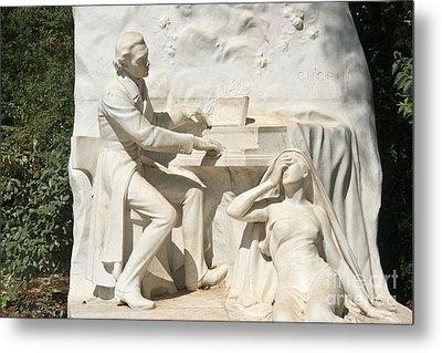 Chopin Monument II Metal Print