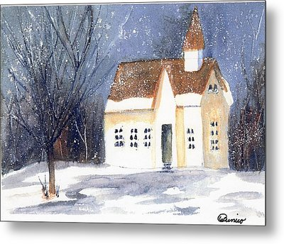 Christmas Eve Metal Print by Wendy Cunico