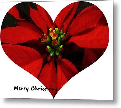 Christmas Greetings Metal Print by Vijay Sharon Govender