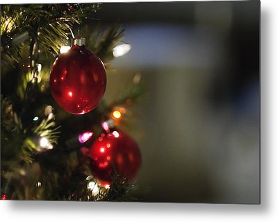 Christmas In The Sanctuary Metal Print by Lisa Missenda