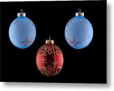 Christmas Ornaments Metal Print by Doug Long