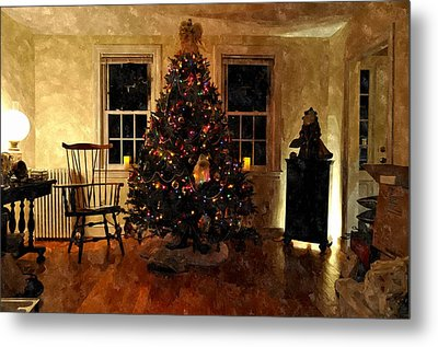 Christmas Past Cpwc Metal Print