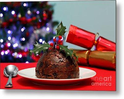 Christmas Pudding  Metal Print by Richard Thomas