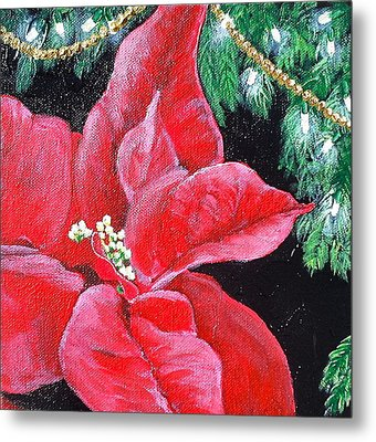 Christmas Time Metal Print by Melissa Torres