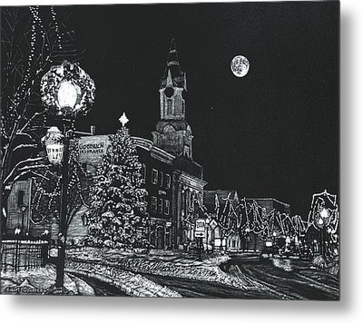 Christmastime Metal Print by Robert Goudreau