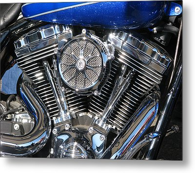 Metal Print featuring the photograph Chromed Jewel by Samuel Sheats