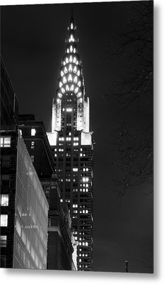 Metal Print featuring the photograph Chrysler Building by Michael Dorn