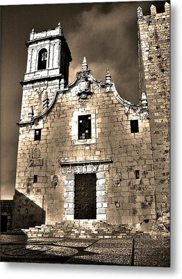 Church Of The Virgen De La Ermitana - Peniscola  Metal Print