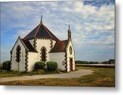 Metal Print featuring the photograph Church Off The Brittany Coast by Dave Mills