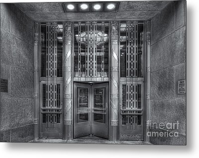 Church Street Post Office II Metal Print by Clarence Holmes