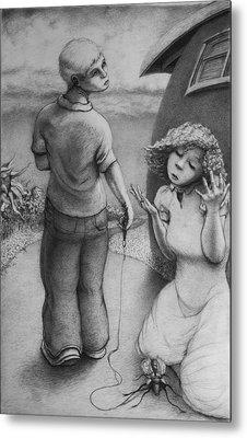 Cicada Metal Print by Louis Gleason