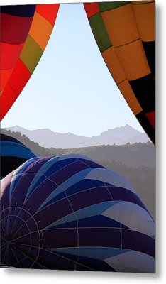 Cimmaron Mountains Metal Print by Marta Alfred