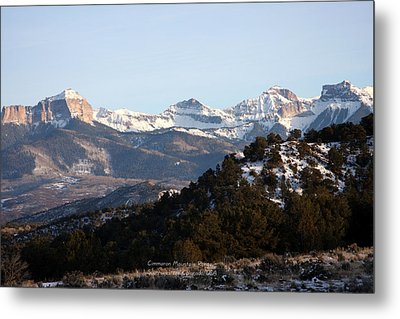Metal Print featuring the photograph Cimmaron Range by Marta Alfred